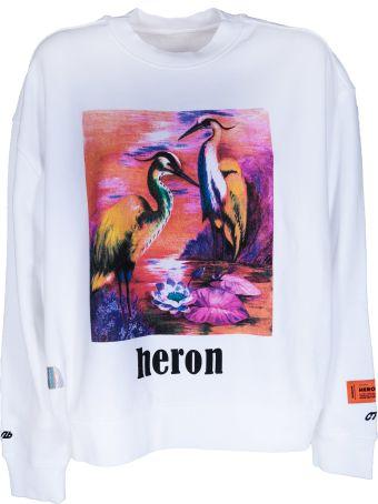 HERON PRESTON Graphic Sweatshirt
