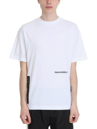 Palm Angels Recovery White Cotton T-shirt