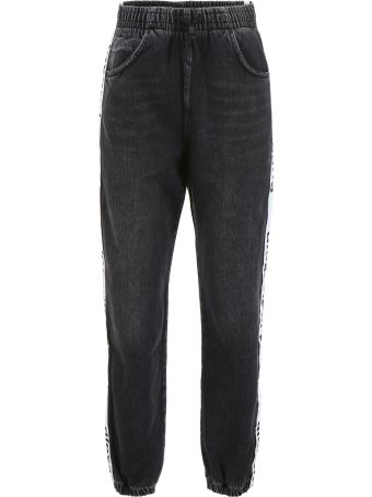Alexander Wang Trousers With Logo Band