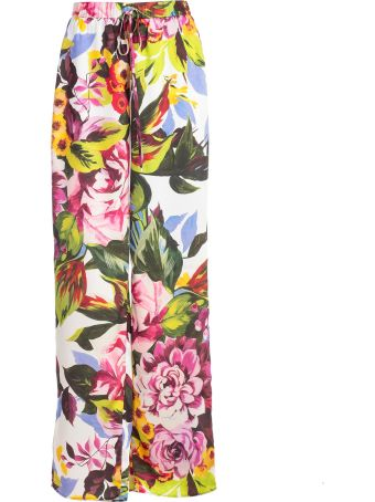 Blugirl Floral Print Trousers