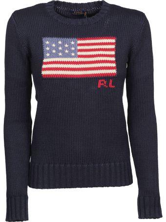 Ralph Lauren American Flag Sweatshirt