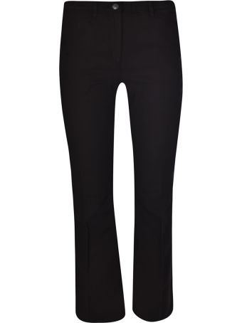 N.21 Cropped Length Flared Cuff Trousers