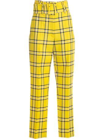 Sara Battaglia Checked Trousers