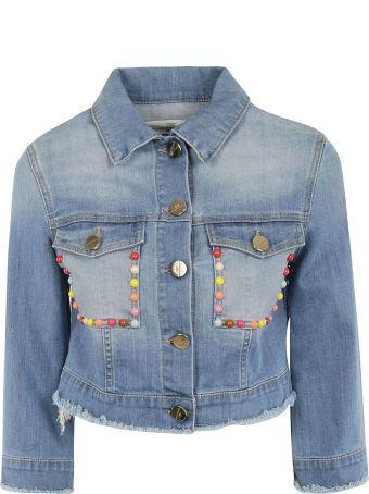 Elisabetta Franchi Celyn B. Elisabetta Franchi For Celyn B. Studded Denim Jacket