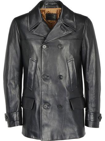 Prada Leather Coat