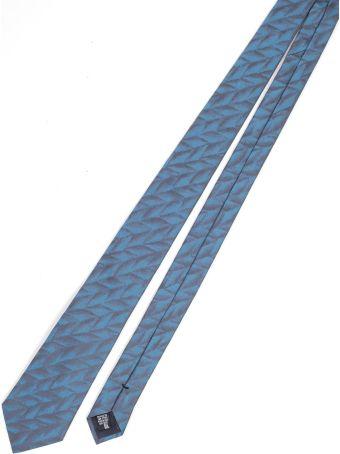 Emporio Armani Geometric Pattern Tie