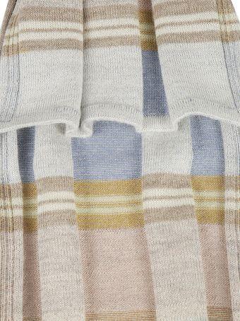 De Clercq Striped Scarf