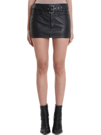 Alexander Wang Moto Mini Skirt