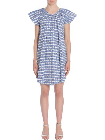 Opening Ceremony Printed Cotton Poplin Dress