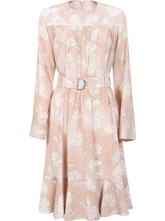 Chloé Belted Floral Dress