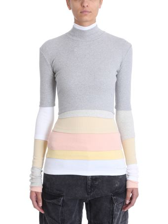 Y/Project Layered Multi-panel Knitted Top