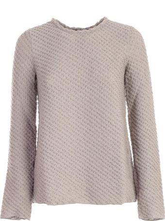 Emporio Armani Interlace Knit Sweater