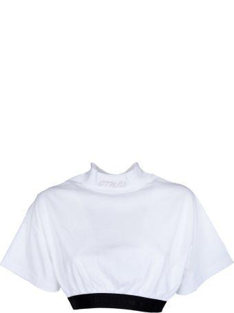 HERON PRESTON Cropped T-shirt