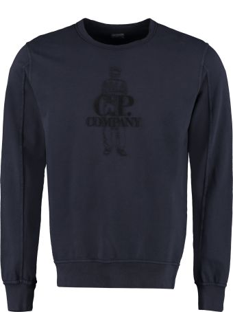 C.P. Company Embroidered Cotton Sweatshirt