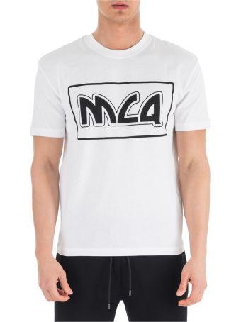 McQ Alexander McQueen  Short Sleeve T-shirt Crew Neckline Jumper