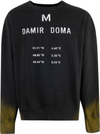Damir Doma Logo Print Sweatshirt