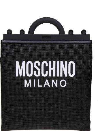 Moschino Shopping On The Net With Black Color Logo