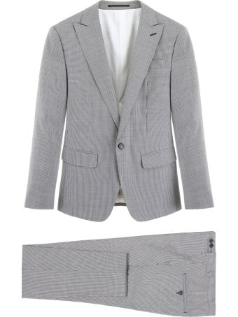 Dsquared2 Micro Check Two-piece Suit