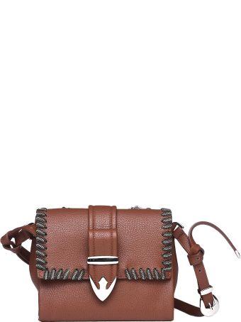 Orciani Joy Burnt Leather Mini Bag