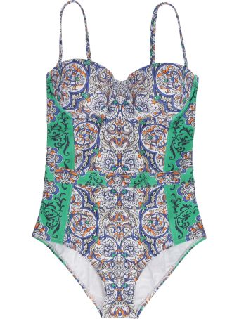 Tory Burch Underwire One-piece Swimsuit