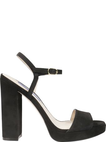 Stuart Weitzman Sunray Platform Sandals
