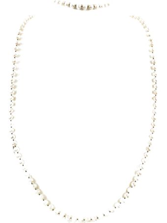 Night Market Double Pearl Necklace