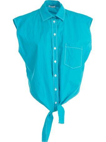 Parosh P.a.r.o.s.h. Cropped Shirt
