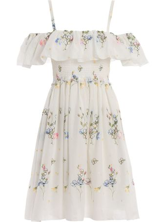 Blugirl Ruffle Detail Dress