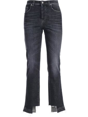 Department 5 Department Five Cut Out Detail Jeans