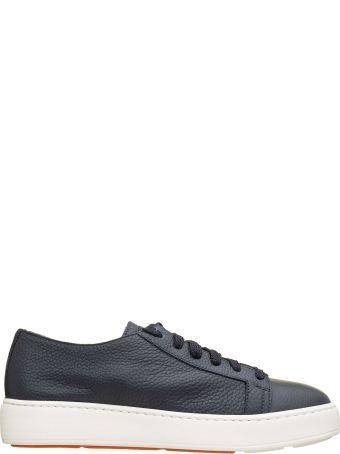 Santoni Santoni Blue Sneakers