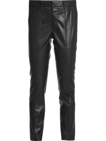 MSGM Faux Leather Trouser