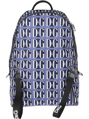 Dolce & Gabbana Logo Print Backpack