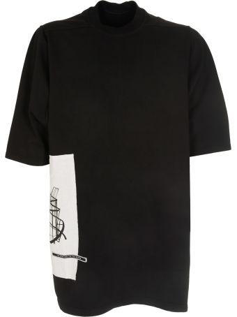 Rick Owens Structure Print T-shirt