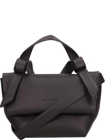 Acne Studios Black Leather Musubi Milli Bag