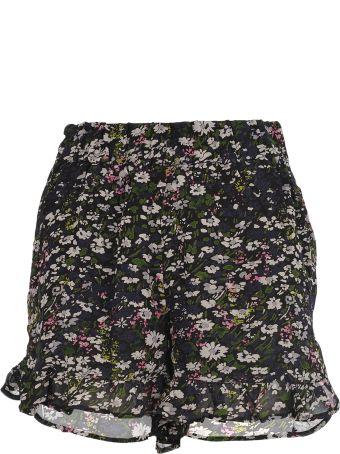 Ganni Floral Print Shorts