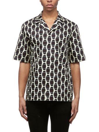 Roberto Cavalli Print Button-up Shirt