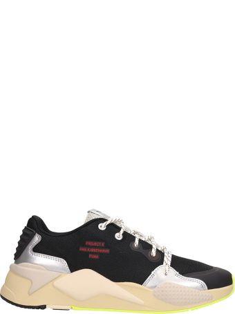Puma X Han Kjobenhavn Black Fabric Sneakers Rs -x Han
