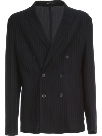 Emporio Armani Double Breasted Jacket Icon