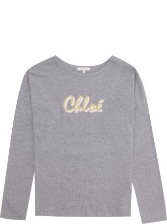 Chloé Printed Cotton T-shirt
