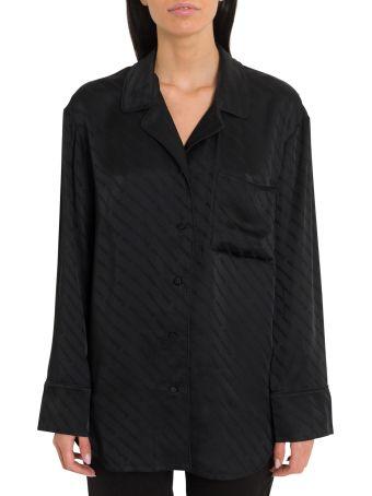 Alexander Wang All-over Logo Puijama Shirt