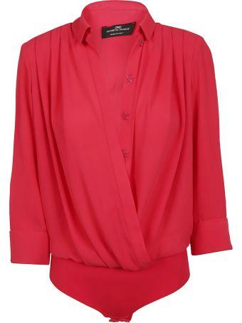 Elisabetta Franchi Celyn B. Elisabetta Franchi For Celyn B. Long-sleeved Star-buttoned Shirt
