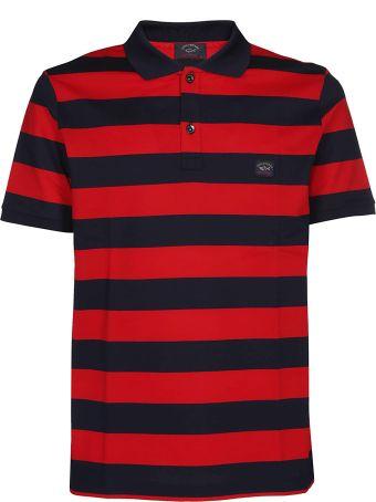 Paul&Shark Striped Polo Shirt