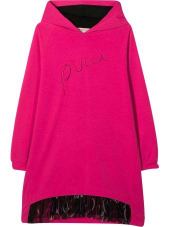 Emilio Pucci Fuchsia Teen Dress Emilio Pucci Kids