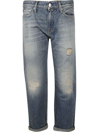 Calvin Klein Distressed Jeans