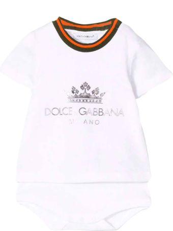 Dolce & Gabbana Dolce E Gabbana Kids Newborn Suit