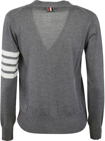 Thom Browne Relaxed Fit V-neck Cardigan