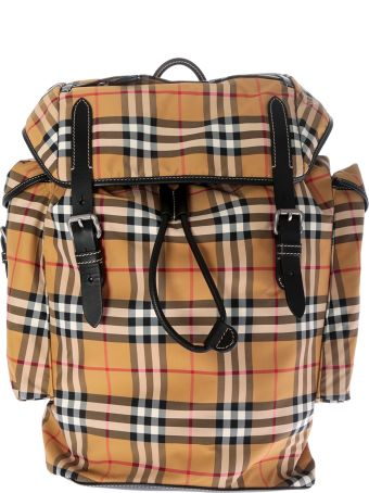 Burberry Vintage Checked Backpack
