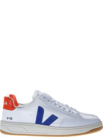 Veja White Low-top Sneakers With Veja Logo