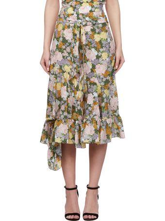 Rokh Floral Skirt