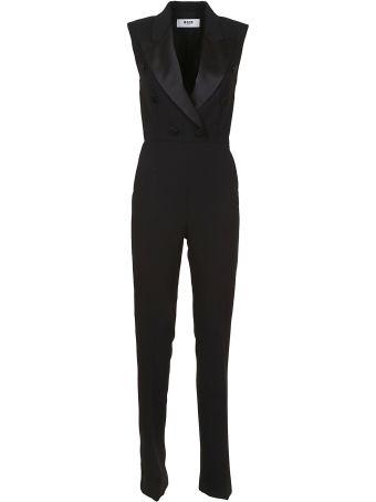 MSGM Sleeveless Jumpsuit